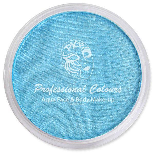 PartyXplosion Aqua face & body paint Pearl Sky Blue