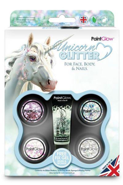 PaintGlow Box Unicorn Chunky Glitters