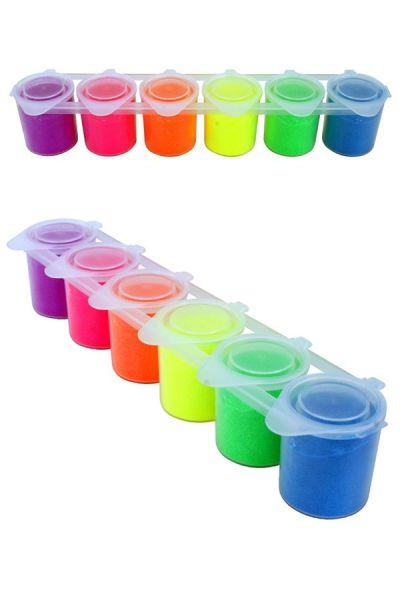Ybody UV glitter set 6x22 grams