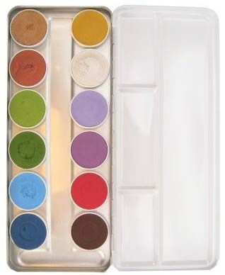 Facepaint palette 12 colours basic fairy tales Superstar