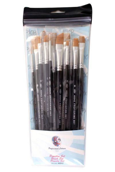 PXP 15 facepaint brushes assorted grime profigrime
