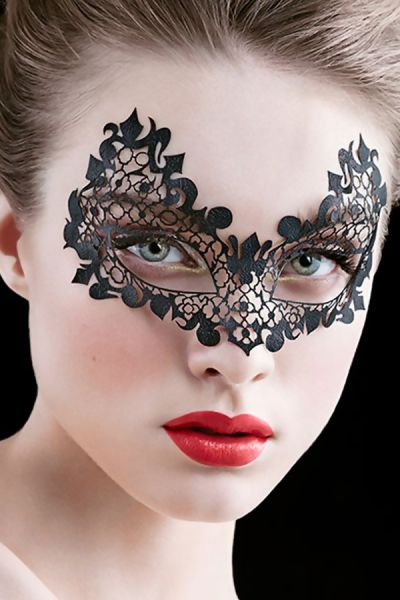Face-lace Beauroque with open eyes Mask