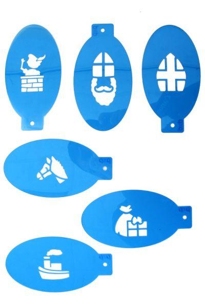 6 PXP facepaint holy templates set