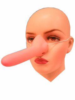 Pinocchio nose of rubber