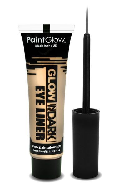 Paintglow Glow in the dark eyeliner UV neon invisible