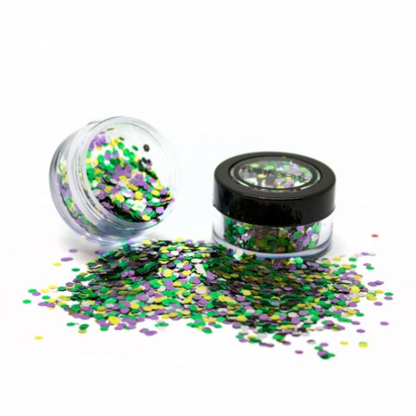 PaintGlow biodegradable cosmetic glitter mixes Rain Forest