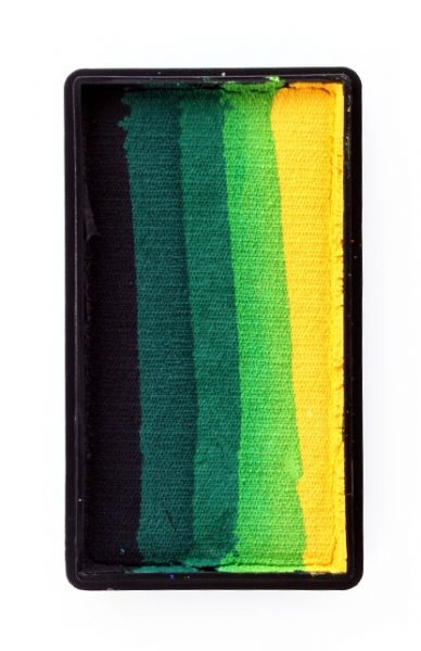 PXP One Stroke Black dark green light green yellow PartyXplosion