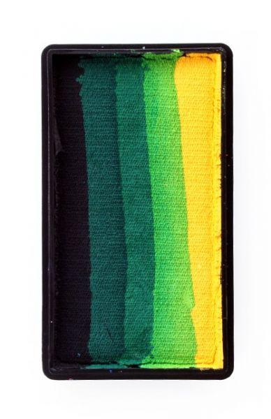 PXP One Stroke Black dark green light green yellow PartyXplosion