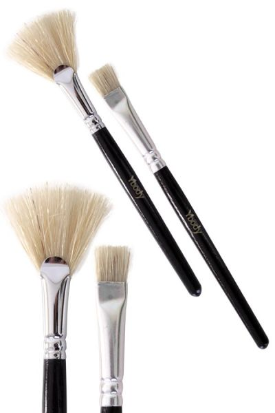 Ybody Glitter Tattoo 2 Brush set