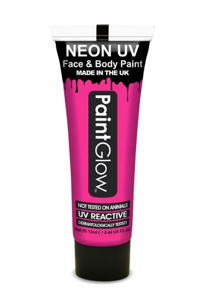PaintGlow Face and bodypaint neon UV pink