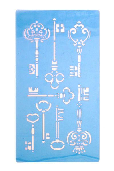 PXP Face paint Stencils Steampunk Keys