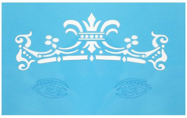 PXP Face Paint Stencils crown