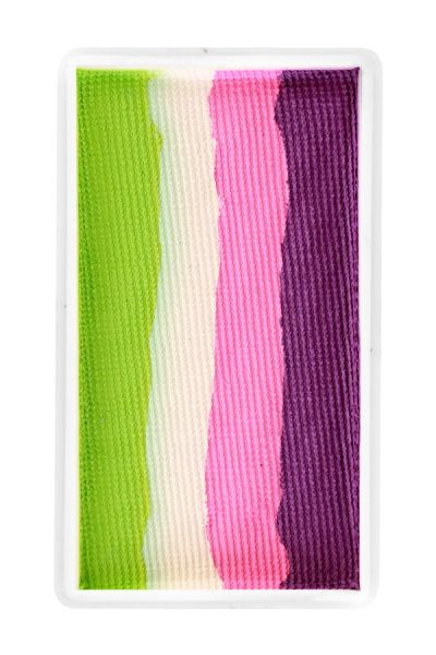 PXP split cake Orchid Pink candy White Lime green PartyXplosion
