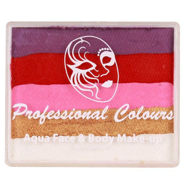 PXP split cake Violet Red Pink Pearl Gold White